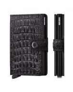 Secrid miniwallet Nile alligator - Nile - Zwart - 105474