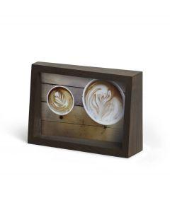 Umbra houten fotolijst voor 10 x 15 cm foto's Edge - Walnoot - 105554