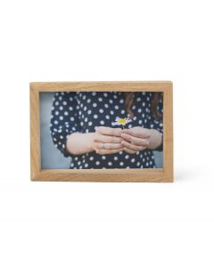 Umbra houten fotolijst voor 10 x 15 cm foto's Edge - Naturel Hout - 105553