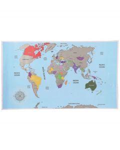Out of the Blue landkaart Scratch map - Wereldkaart - 105675