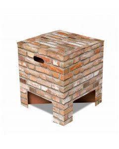 Dutch Design Brand kartonnen krukje - Stenen - Brick - 105959