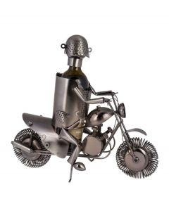 Out of the Blue wijnstandaard metaal motor rijder - 106826