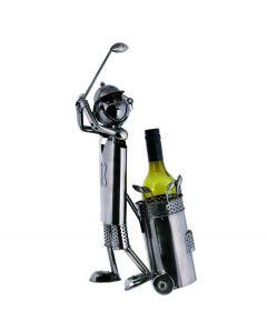 Out of the Blue wijnstandaard metaal golfspeler - 106838