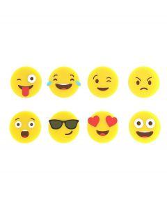 Balvi set van 8 Emoji glasmarkers - 106963