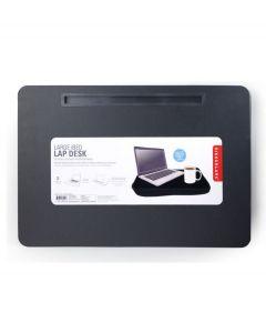 Kikkerland tablet houder met schootkussen Ibed XL - Zwart - 107257