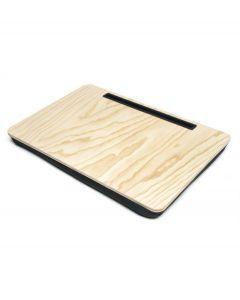 Kikkerland tablet houder met schootkussen Ibed XL - Hout - 107256