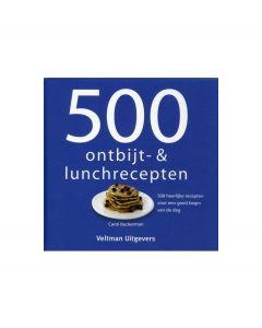 Veltman Uitgevers 500 ontbijt & lunchgerechten - 100355