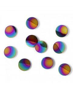 Umbra wanddecoratie Confetti Dots regenboog metaal - 107936
