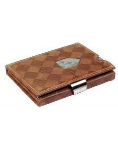 Exentri wallet RFID portemonnee Chess sand Leer - 108236