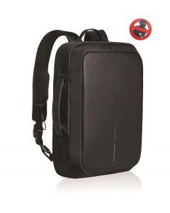 XD Design anti diefstal rugzak en aktentas Bobby Bizz zwart - 108254