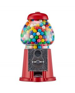 Balvi kauwgomballen automaat American Dream 23 cm rood metaal - 108316