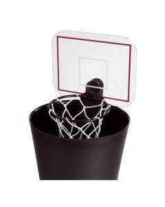 Balvi basketbalnet Shoot met geluid voor op prullenbak kunststof - 108297