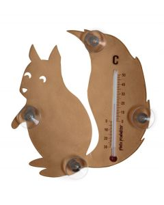 Pluto raam thermometer eekhoorn Koper - 108371