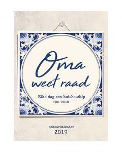 De Lantaarn scheurkalender 2019 - Oma weet raad - 108620