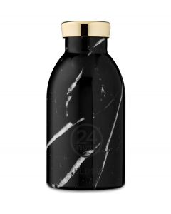 24Bottles Thermosfles Clima Bottle Black Marble 330 ml - 108476