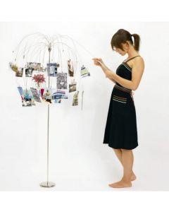 Umbra fotoboom Fotofalls nikkel - Staande uitvoering - 100047