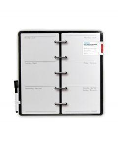 Kikkerland magnetische weekplanner - 103445
