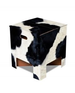 Dutch Design Brand kartonnen krukje - Koeprint - Cow - 103474
