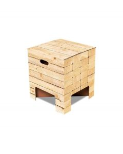 Dutch Design Brand kartonnen krukje - Houtstapel - Woodstack - 103475