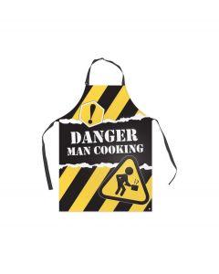 Balvi keukenschort Danger man cooking - 104012
