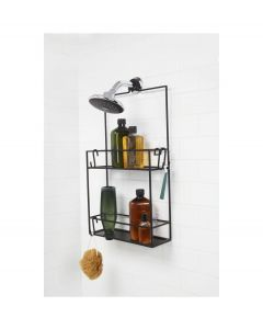 Umbra douche caddy Cubiko zwart - 104597