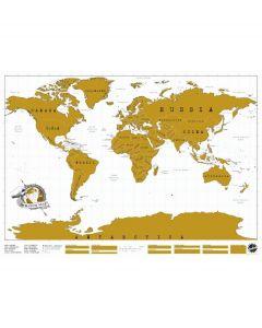 Luckies Wereldkaart Scratch Map - 100258