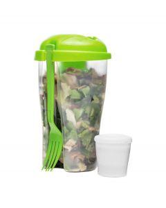 Sagaform Salade meeneem beker To Go - Groen - 105221