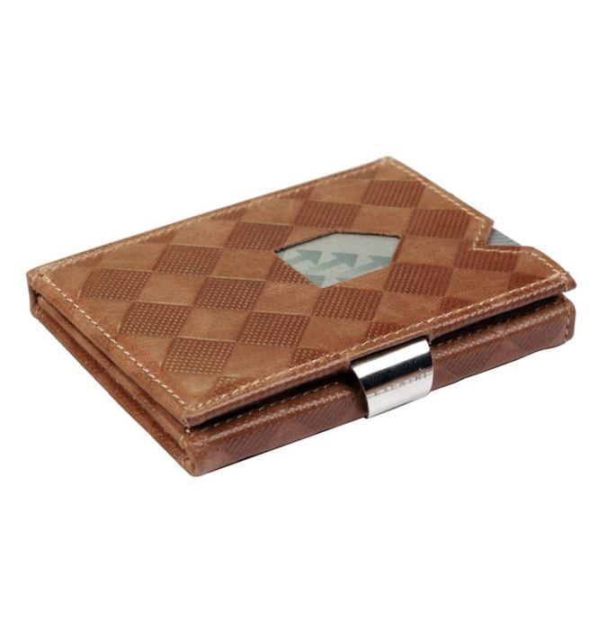 Portemonnee Leer.Exentri Wallet Rfid Portemonnee Chess Sand Leer Kopen