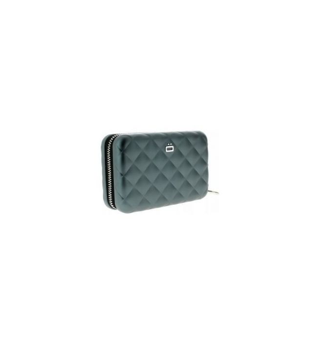 979f7157ae3 Ogon Designs aluminium portemonnee quilt editie met ritssluiting - Platinum  - Cardholders en Portemonnees