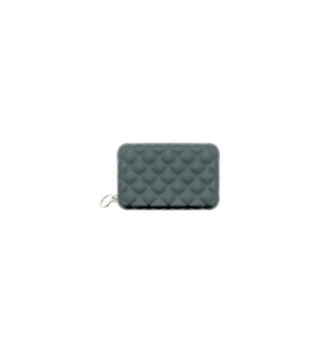 de18362a34d Ogon Designs aluminium portemonnee quilt editie met ritssluiting - Platinum  - 3760127778974