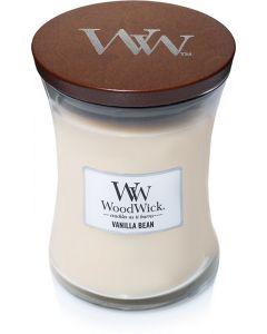 Woodwick Kaars Vanilla Bean Medium - 116345