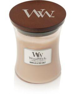 Woodwick Kaars Vanilla and Sea Salt Medium - 116520