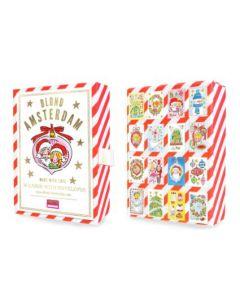 Blond Amsterdam box met 16 Kerstkaarten - Christmas