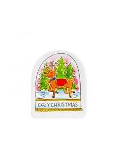 Blond Amsterdam 3D schaaltje Cosy Christmas - Kerst