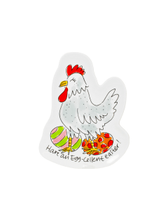 Blond Amsterdam 3D schaaltje Chicken - Happy Easter - 8719416022910