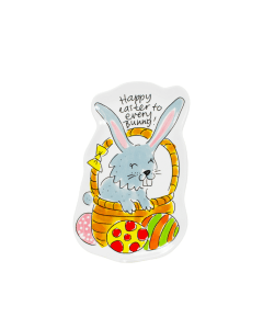Blond Amsterdam 3D schaaltje Bunny - Happy easter - 8719416022880