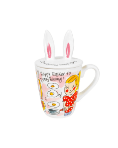 Blond Amsterdam 3D mok Bunny - Happy Easter