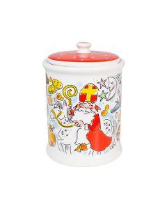 Blond Amsterdam voorraadpot 1 liter - Sint - 122706 - Sinterklaas