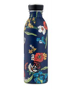24Bottles drinkfles Urban Bottle Denim Bouquet - 500 ml - 115782