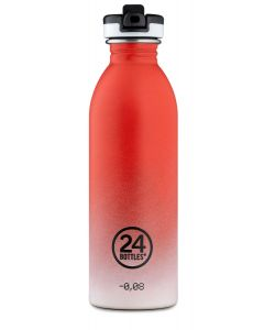 24Bottles drinkfles Urban Bottle Coral Pulse - 500 ml - 115790