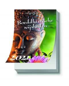 De Lantaarn scheurkalender 2021 - Boeddhistische wijsheden