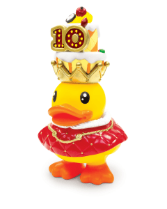 Bduck spaarpot 10th King - Geel