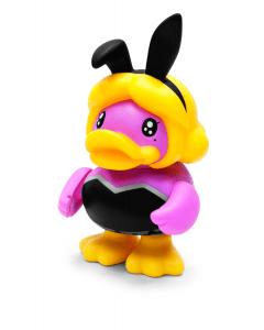 Bduck spaarpot eend 10th Bunny Girl roze