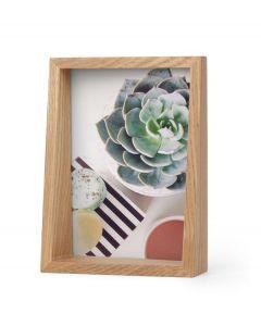 Umbra houten fotolijst voor 13 x 18 cm foto's Edge - Naturel Hout - 105555