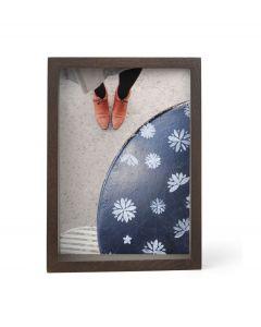 Umbra houten fotolijst voor 13 x 18 cm foto's Edge - Walnoot - 105556