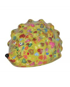 Pomme Pidou spaarpot egel Spike - Groen met harten