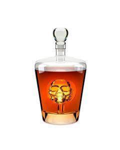 Balvi likeur decanteer karaf met doodshoofd Poison 1 liter