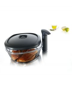 Tomorrow's Kitchen marineerschaal groot 2 -5 liter met vacuumpomp - 106297
