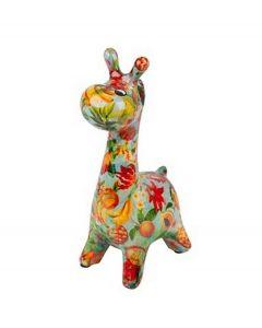 Pomme Pidou brilhouder giraffe Patsy - Blauw met tropisch fruit - 106493