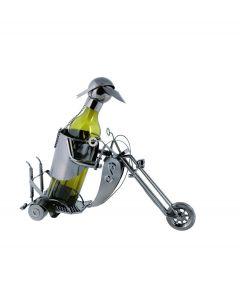 Out of the Blue wijnstandaard metaal motor rijder trike - 106835